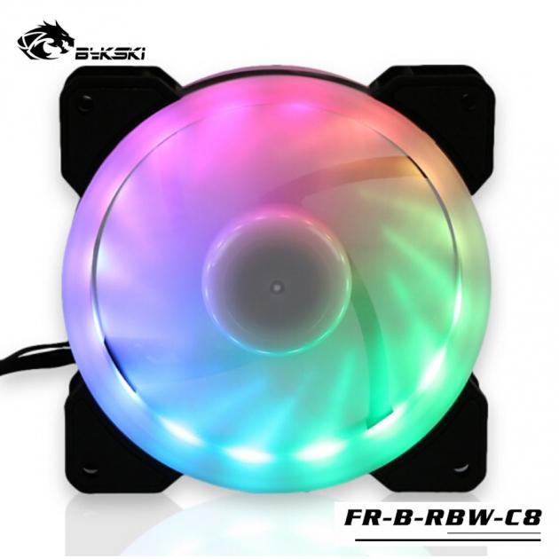光圈風扇LED炫光RBW幻彩12CM散熱風扇 3