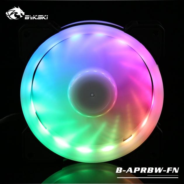 光圈風扇LED炫光RBW幻彩12CM散熱風扇 5