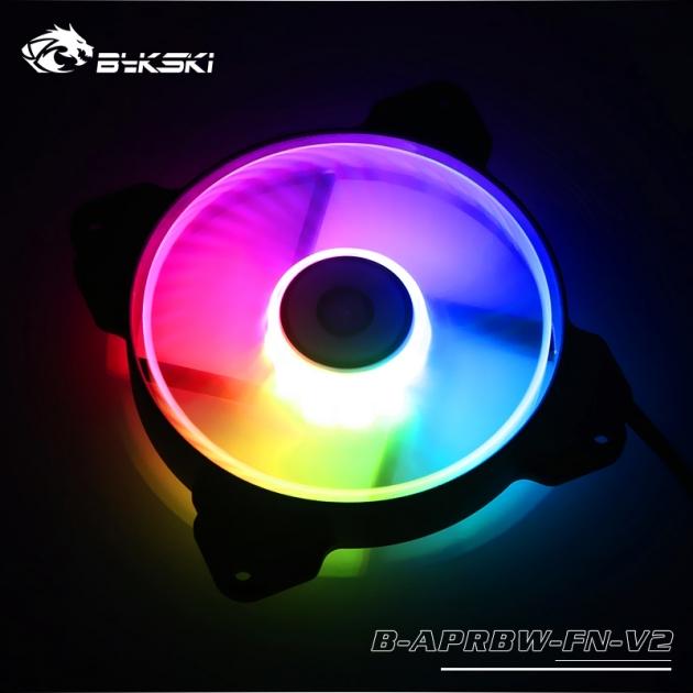 LED炫光RBW幻彩 12CM 散熱風扇 1