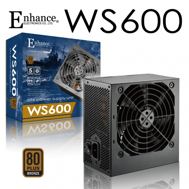 Enhance WS 600 (80Plus銅牌) 1
